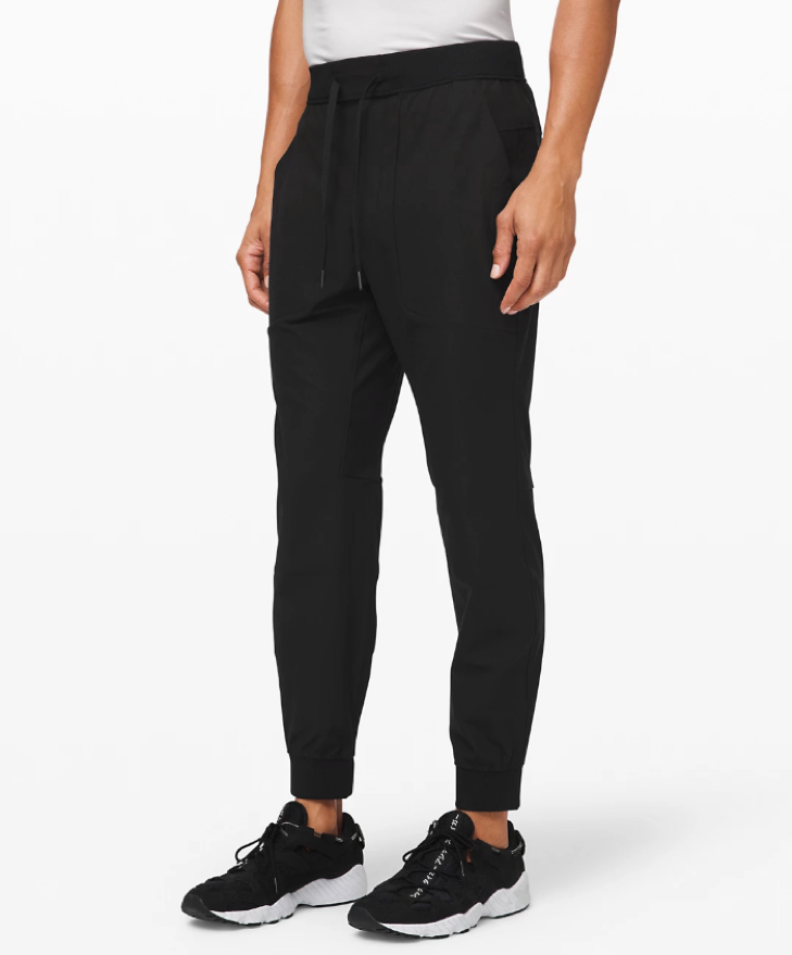 Black Stretchy Travel Pants